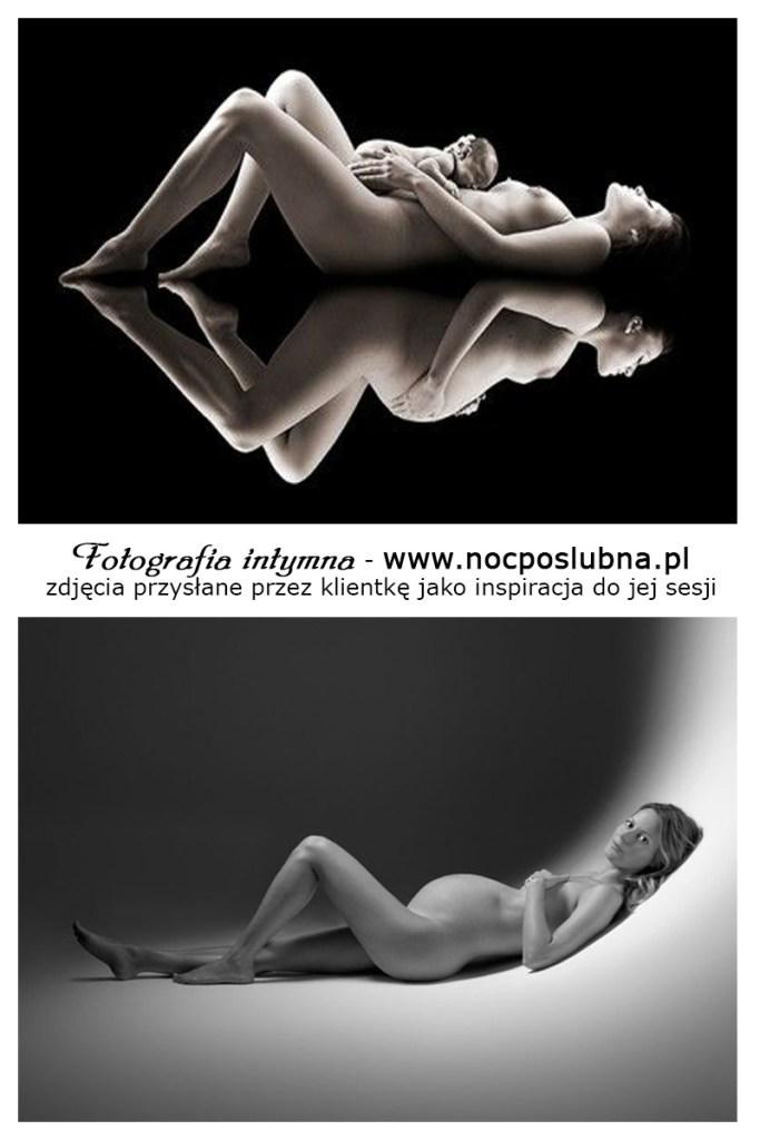 Sesje ciążowe Lublin - studio czy w zaciszu domu