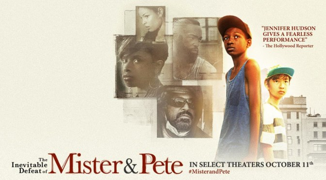 Another inspiring film, 'The Inevitable Defeat of Mister & Pete' to be released on October 11, 2013 ft. @IAMJHUD @JordinSparks  @aliciakeys plus many more! #NoCriticsJustArtist