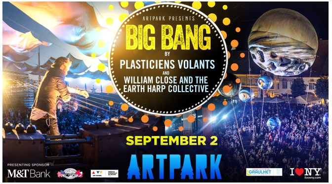 Don't Miss It!!! @TheEarthHarp @ArtParkNY per @_TheConfluence #NoCriticsJustArtists