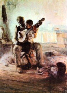 Henry Ossawa Tanner (American artist, 1859–1937) The Banjo Lesson