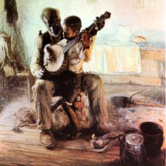 Henry Ossawa Tanner (American artist, 1859–1937) The Banjo Lesson