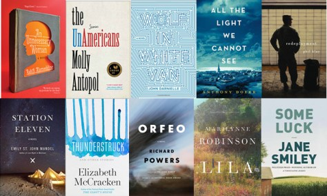 2014 Long List for Fiction