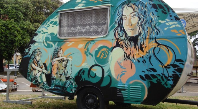 Street Art by Alice Pasquini @alicepasquini #NoCriticsJustArtists