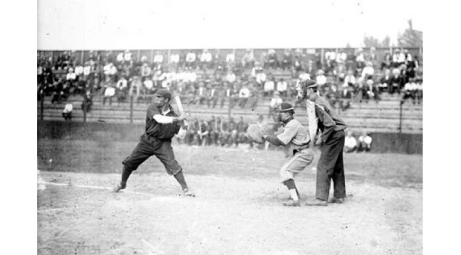 Art In Reflection: American Negro League-Baseball Outfielder, Pete Hill #NoCriticsJustArtists