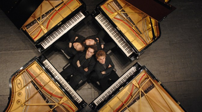 Meet The Gershwin* Piano Quartet  #GlobalArtists #Classical #Gershwin #NoCriticsJustArtists