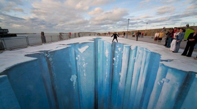 Meet German-3D Street Art Illusionist, Edgar Müller #NoCriticsJustArtists