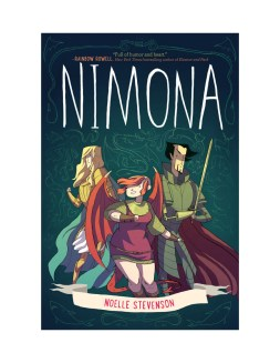 (June 2015) NCJA Book of the Month - NIMONA