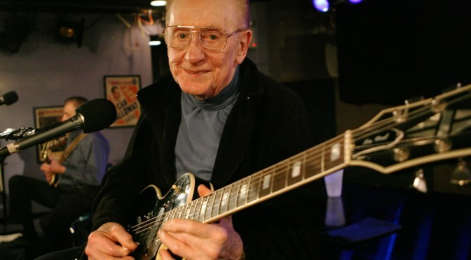 Art In Reflection: #American #Jazz, #Country & #Blues #Guitarist – Les Paul #NoCriticsJustArtists #LesPaul #ArtInReflection