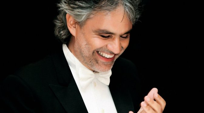 NCJA Game Changer of the Month: #Italian #Classical #Tenor , The Legendary @AndreaBocelli #NoCriticsJustArtists