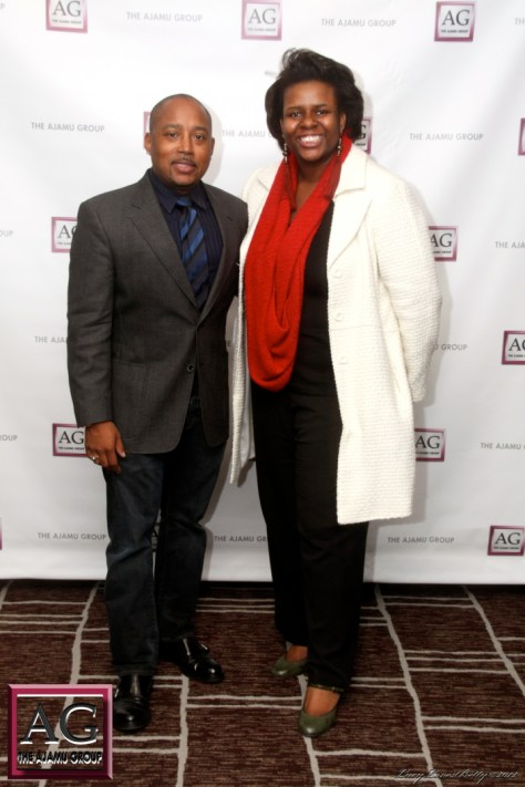 Daymond John and Abenaah Nefertari Hill