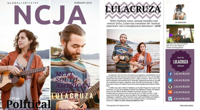 Check out The N C J A #Magazine – February 2016 #Issue #NoCriticsJustArtists