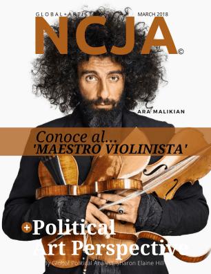 Ara Malikian mag cover