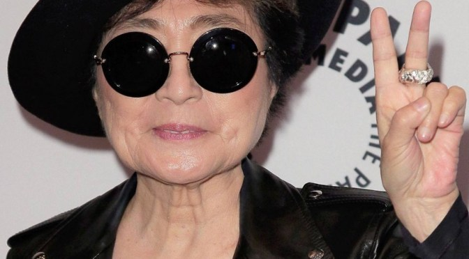 Oldie But Goodie: #Multimedia #artist – @YokoOno / Tenaglia – #WalkingOnThinIce (Maestro Version) #NoCriticsJustArtists