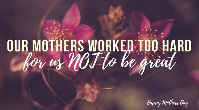Feliz Dia de las Madres Happy #MothersDay from #NoCrtiticsJustArtists