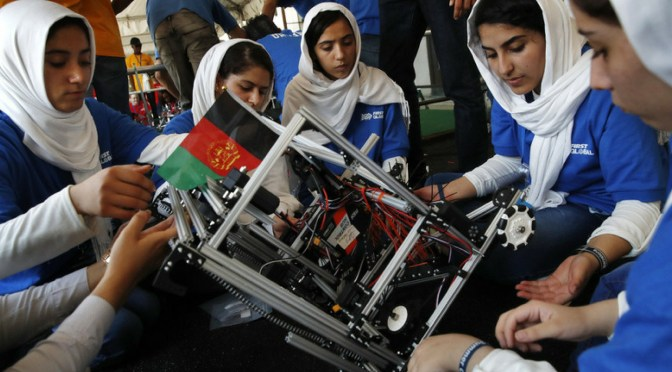 #Millennial #Engineering : Meet the *girls #AfghanRoboticsTeam via @F1RSTGlobal #FGC2017 #NoCriticsJustArtists