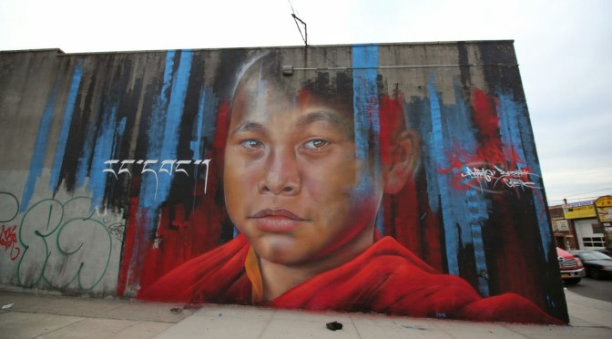 The Art Of… Graffiti Rooted/Aussie Proud ~ Indigenous Portraiture, Adnate #NoCriticsJustArtists #Adnate #FineArts