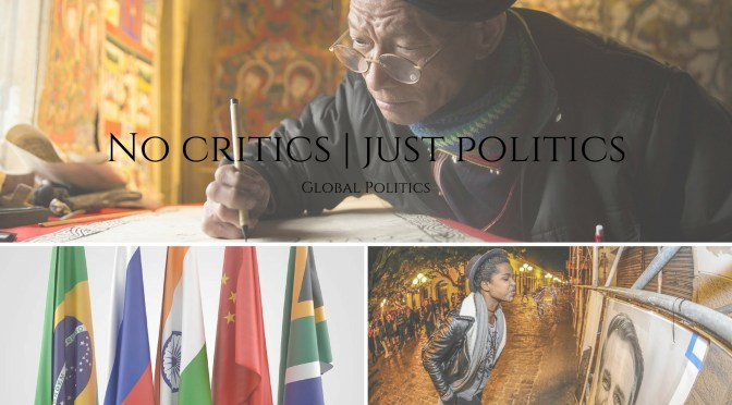 NEW! @No_Critics Just Politics; like you have never experienced! #NoCriticsJustArists