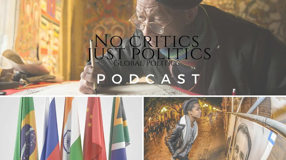 Listen: The @No_Critics Just Politics #Podcast Episode 8 hosted by #SharonElaineHill on #NoCriticsJustPolitics #NoCriticsJustArtists