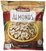 slivered almonds