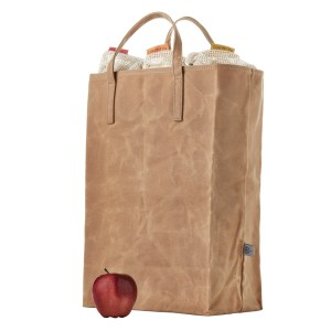 Waxed Canvas Grocery Bag