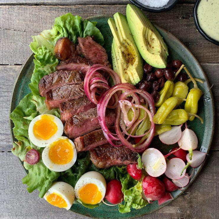 Pre Steak Salad