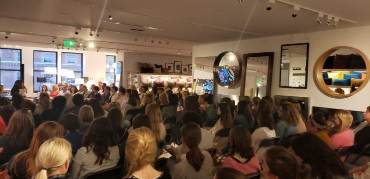 nocrumbsleft Book Tour Event, Boston Room & Board