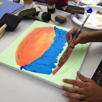 painting cakes with texture