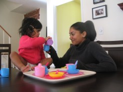 The tea routine has been passed down to my daughter