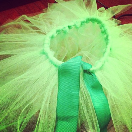 Making Tutus - taking on projects I'm not supposed to!