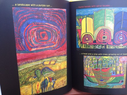 Inside the Hundertwasser book
