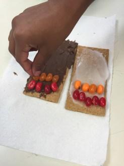 Jelly bean mosaic