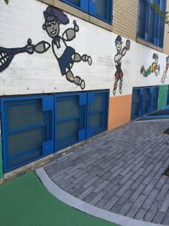 public school facade