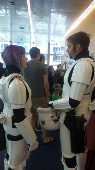 Stormtroopers on lunch break