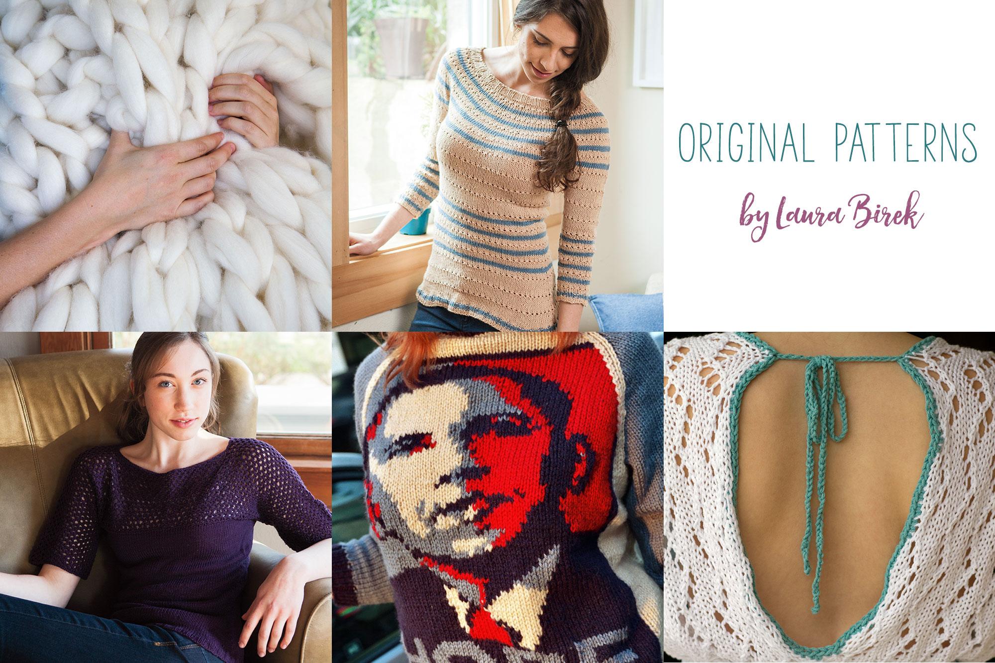Original Knitting Patterns by Laura Birek
