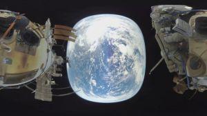 primer vídeo de un paseo espacial en 360º.