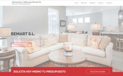 Nueva página web con WordPress para Empresa de Reformas en Madrid