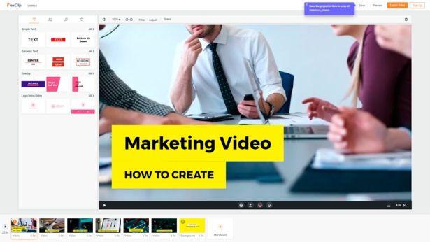 FlexClip Editor de video gratis