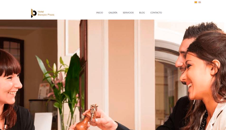 pagina web hotelbarajasplaza