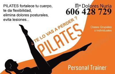 Diseño Tarjetas de visita para Personal Trainer y Pilates