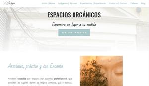 Diseño web madrid para Cris Longoria