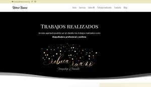 diseño web madrid maquilladora peluquera profesional