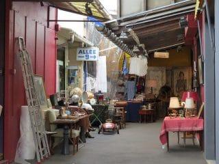 Uno de los mercados que componen el Mercado de las Pulgas