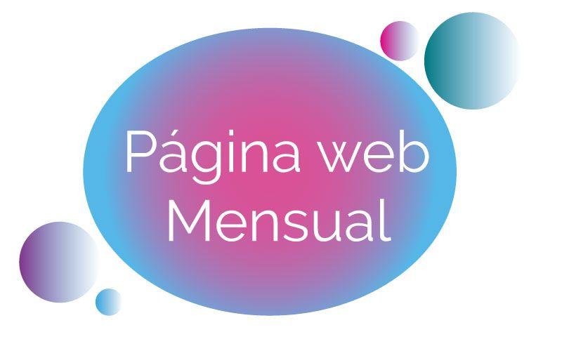 Diseña tu página web y paga solo mensualmente