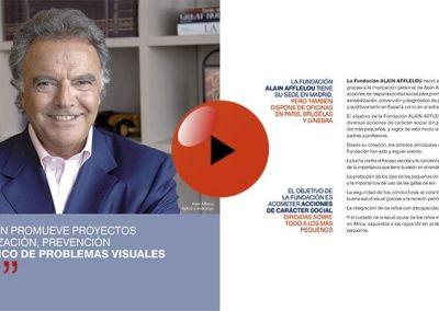 Presentación animada swf Fundación Alain Afflelou