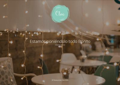 Diseño Web para Restaurante Cloe Orihuela