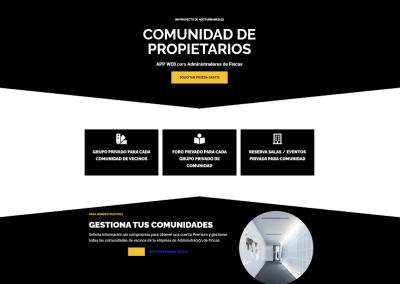 Plataforma Administrador de Fincas y Comunidades