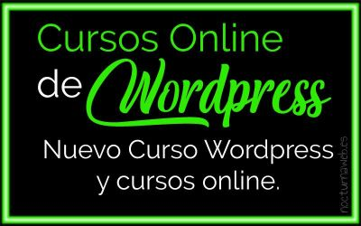 Cursos online de WordPress para todos