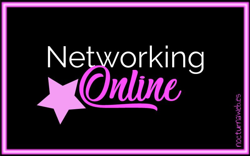 Imagen con texto Networking Online