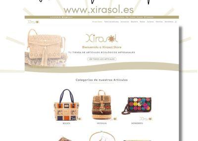 Diseño web tienda online de complementos ecológicos