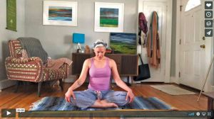 Bringing yoga to NoDa's living rooms